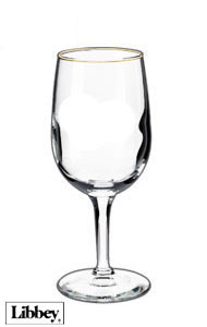 6.5 ounces  Libbey  citation  tall wine glass       MADE IN USA
