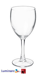10.5 oz nuance clear stem goblet wine MADE IN USA