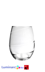 9 oz Aurora perfection stemless wine glasses MADE IN USA