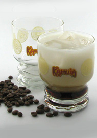 4-pc 12.5 oz Kahlua old fashioneds