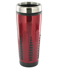 16 oz rocket travel mug - red