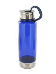 24 oz venture sports bottle - blue