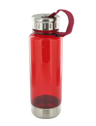 24 oz venture sports bottle - red