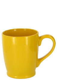 16 oz kinzua bistro mug - Yellow
