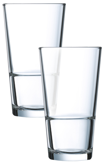 10 oz StackUp Hi-Ball Side Water glass