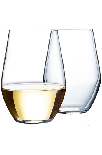 11 5 oz concerto stemless wine glasses made in usa j6248 Large wine glasses cheap