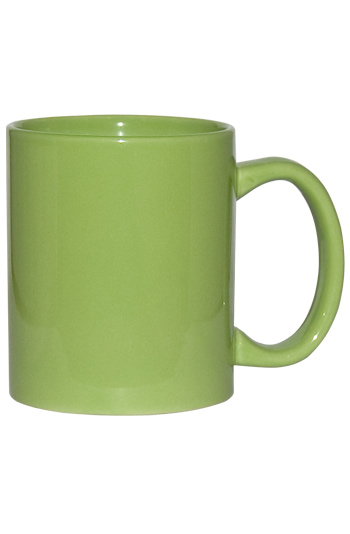 11 Oz C Handle Coffee Mug Lime Green Wp3419s 366