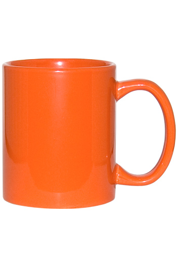11 Oz C Handle Coffee Mug Orange Wp3419s 172