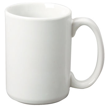 15 Oz El Grande Ceramic Mug White