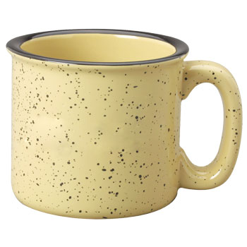 15 oz campfire western speckled ceramic coffee mugs at wholesale
