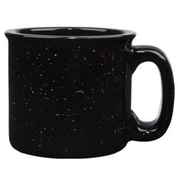 15 Oz Campfire Stoneware Mug Black Out