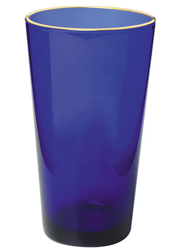 16 oz Libbey pint glass (mixing glass) - cobalt blue