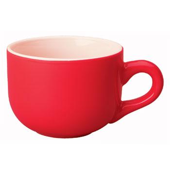 16 oz cappuccino soup mug - red [17264] : Splendids Dinnerware ...