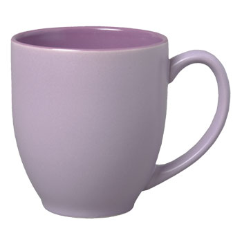 15 Oz Bistro Matte Sorbet Mug Purple 19216 Splendids