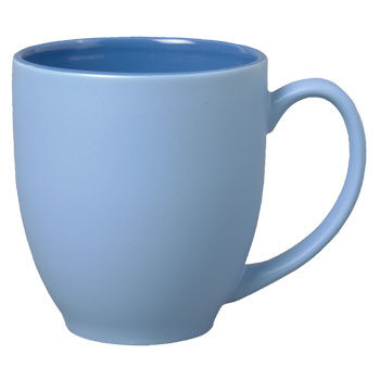 15 Oz Bistro Matte Sorbet Mug Blue 19218 Splendids