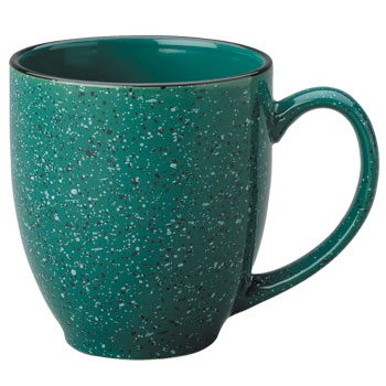 15 oz new mexico bistro coffee mug - green