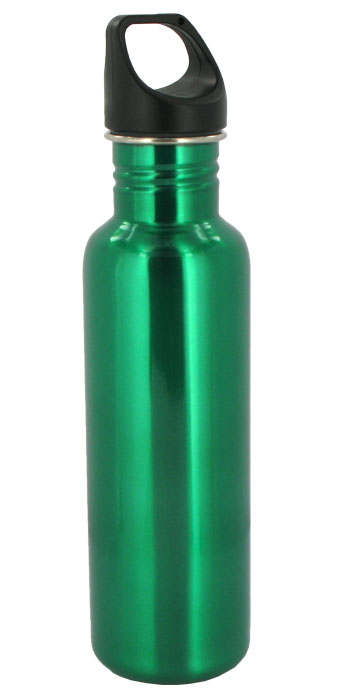 stainless steel 26 oz excursion sports bottle - green