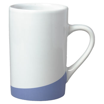 12 oz beaverton coffee mug - lt blue