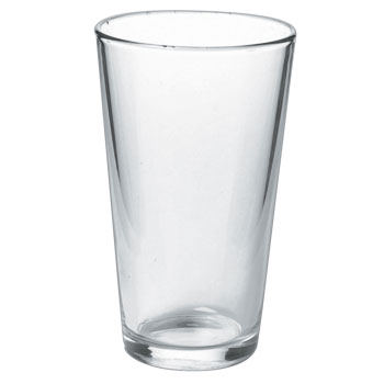 16 oz pint glass mixing glass - 16 Oz Glass
