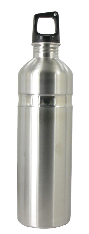 26 oz silver kodiak stainless steel sports bottle