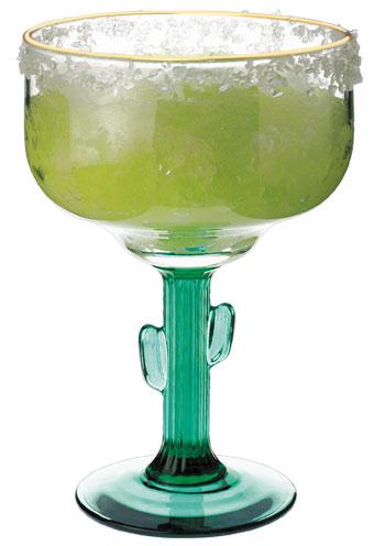 16 oz Libbey cactus margarita glass