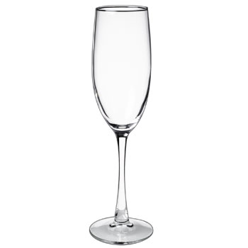 8 oz connoisseur champagne flute glass MADE IN USA