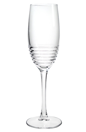 5.75 oz Eminence clear stem champagne flute - MADE IN USA