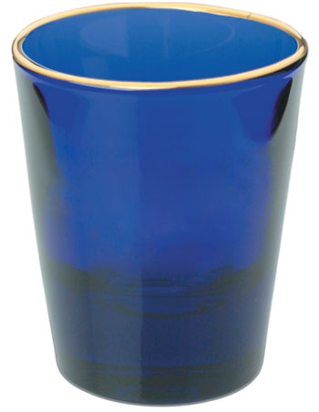 1.5 oz Libbey shot glass - cobalt