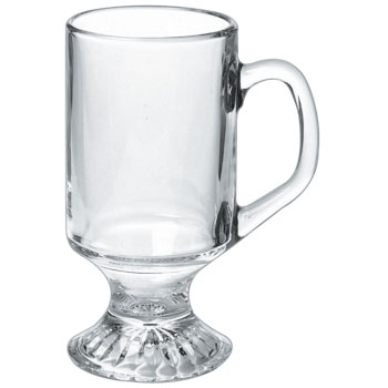 10 oz irish coffee glass mug-MADE IN USA