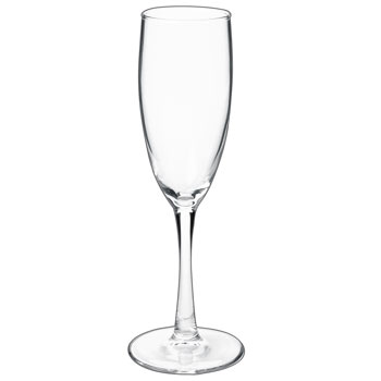 5.75 oz montego champagne flute glass MADE IN USA