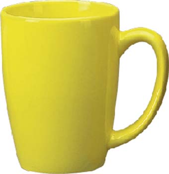 14 oz huntsville endeavor cup - yellow- vitrified