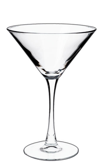 7.25 oz martini glass - MADE IN USA
