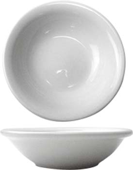 4 3/4 oz brighton porcelain narrow rim fruit bowl