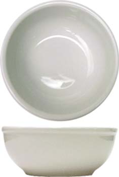 16 oz dover porcelain rolled edge oatmeal bowl