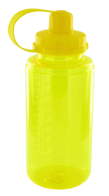 34 oz mckinley sports bottle  - yellow