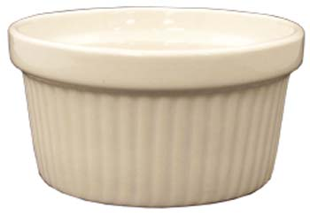 4 oz fluted american white ramekin