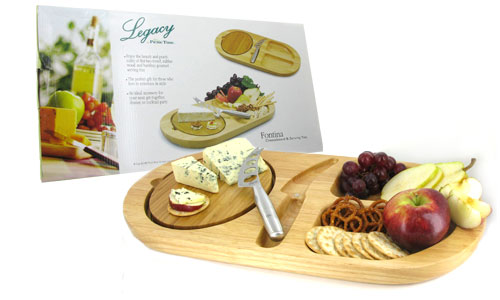 fontina cheeseboard & serving tray