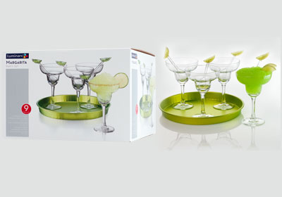 9-pc margarita party set