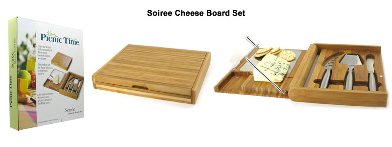 soiree cheese board set
